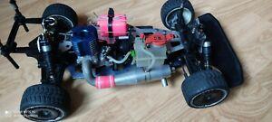 Vintage kyosho Gp10 4wd 1/10 2 speed transmission with OS CZ12 -Z engine