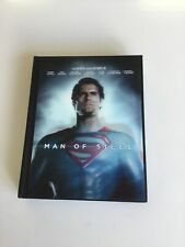man of steel dvd Bluray Steelbook