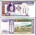 MONGOLIE MONGOLIA Billet 100 TUGRIK 2008 P68 CHEVAL NEUF UNC