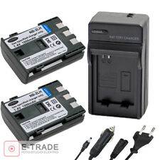 2x Battery + CHARGER NB-2L NB 2LH - for Canon EOS 350D 400D G7 G9 S30 S40 Camera