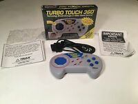 * Turbo Touch 360 Video Game Controller Super Nintendo SNES In Box Triax Tech