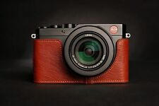 Handmade Genuine real Leather Half Camera Case bag Cover for Leica D-LUX Typ 109