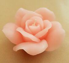 2 x CANDELE rosa rose in scatola con nastro da regalo Decorazione Regalo Di Compleanno Candela