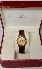 18k Gold Day Date Omega Constellation Mens Wrist Watch w Box