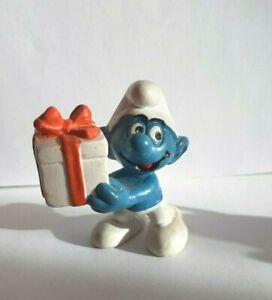 Schlümpfe  PEYO/SchleichBully   - Schlumpf mit weißem Geschenk