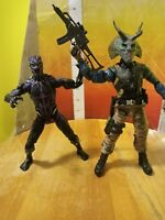 BLACK PANTHER Marvel Legends VIBRANIUM SUIT M'baku wave & Killmonger finger lot