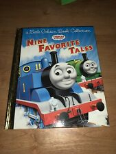 A Little Golden Book Collection THOMAS THE TRAIN 9 Nine Favorite Tales EUC