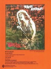The Rose Sheet Music Piano Vocal Bette Midler NEW 000321816