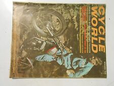 NOVEMBER 1968 CYCLE WORLD MAGAZINE,HARLEY DAVIDSON SPRINT SS350,SEARS 250 PUCH,