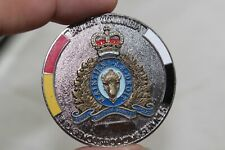 Royal Canadian Mounted Police British Columbia Challenge Coin