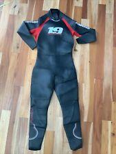 NINETEEN  MENS Full Triathlon Wet Suit Size XL Black/Red MSRP $279