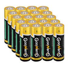 General 20pcs Gaoneng 2A AA Alkaline Batteries 1.5v Bulk Single Use Batteries