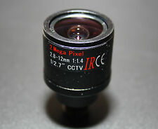 2.8-12mm Varifocal Fixed Iris IR Zoom Board Lens (VF FI 2.8-12-IR-2MP)