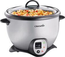 Crock-Pot CKCPRC6040-060 900W 2.2L Saute Rice Cooker - Stainless Steel