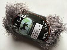 Dark Horse Yarns Lovely Lash #203 Pewter Gray Eyelash Yarn 50gr 92y