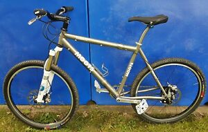 Moots Titanium Mountain Bike with S&S Couplers and Rohloff Hub