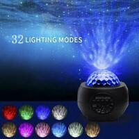 Galaxy Starry Night Lamp LED Star Projector Night Light Ocean Wave Projector New