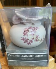 Croscill FLOWER BLOSSOM Lavender Butterfly Diffuser  NEW & Part of a collection