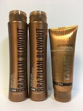 BRAZILIAN BLOWOUT SHAMPOO, CONDITIONER & STRAIGHTENING BALM - TRIO