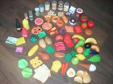 CHILDRENS PLAY FOOD BUNDLE LARGE JOB LOT 70+ ITEMS ALLSORTS