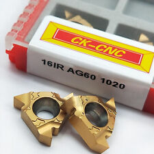 16IR 10ACME Carbide Insert 29° U.S ACME Trapezoidal thread 10pcs