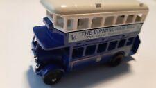 """Lledo Days Gone 1932 AEC Regent Double Decker bus """"The Birmingham Mail"""""""
