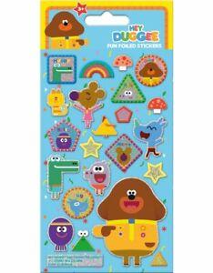 HEY DUGGEE Fun Foiled Reusable Sticker Sheet -Cbeebies  Christmas Party Bag Toy