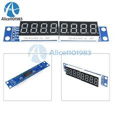 Max7219 Led Dot Matrix 8 Digit Digital Tube Display Control Module For Arduino