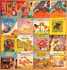 Vintage Golden Look-Look Books, 16 Total, Winnie The Pooh, Popeye, Donald Duck +