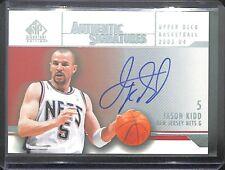 2003-04 Upper Deck SP Authentic Signatures #AS-JK Jason Kidd