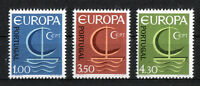 Portugal CEPT Nr. 1012 - 1014 ** postfrisch Europa 1966 MNH