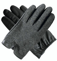Dents Leather Wool Gloves Cashmere Fleece Lined Warm Mens Winter 75-0016 New
