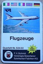 F.X.Schmid 52422 Quartett Flugzeuge neuwertig OVP