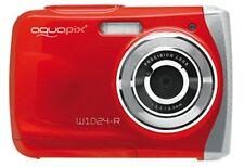 Easypix W1024-rd Fotocamera Subacquea W1024 Sensore CMOS 10 Mpx - Rosso