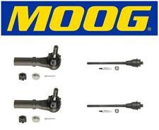 Moog 2 Inner & 2 Outer Tie Rod Ends Hummer H2 2005 ES3488 ES3609