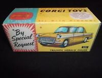 Corgi 231 Triumph Herald Coupe Empty Repro Box Only