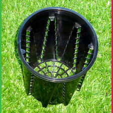 140mm Anti-Spiral Pot (143mm) Pack of 35 Air pruning - stops roots from circling