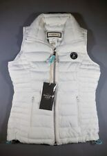 Abercrombie & Fitch White Down Vest for Girls Ladies Jacket XS Brand New w/ Tag