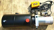 12 Volt Hydraulikaggregat für Kipper mit  Kabe E - Bedienteil