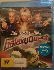 *Brand New & Sealed* Galaxy Quest (Blu Ray Movie) Sigourney Weaver, Alan Rickman