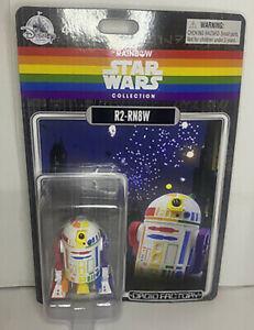 Star Wars Rainbow Pride R2-RN8W Droid Factory Disney Parks Exclusive R2-D2