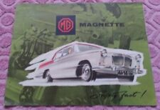 MG Magnette Mark III Broschüre Katalog Prospekt brochure englisch english -1