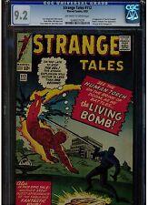 STRANGE TALES #112 CGC 9.2 1963 1ST APPEARANCE OF EEL & FULL PG. AD AVENGERS #1