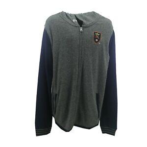 Real Salt Lake MLS Adidas Youth Kids Size Zip Up Hooded Light Sweatshirt New