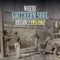 Various - Where Southern Soul Began (Volume 2) (NEW CD)