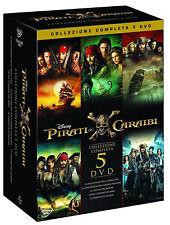 PIRATI DEI CARAIBI - LA COLLEZIONE COMPLETA (5 DVD) DISNEY PICTURES Jhonny Depp