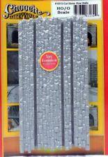Chooch (HO/O Scale) #8313 Medium Cut Stone Wall Rows - NIB