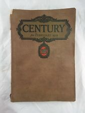 Century for February 1923 Paperback Magazine Old Vintage Antique