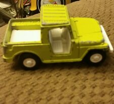 Vintage 1969 Tootsietoy Lime Green Jeep!