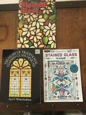 Stained Glass - books x3 LOT